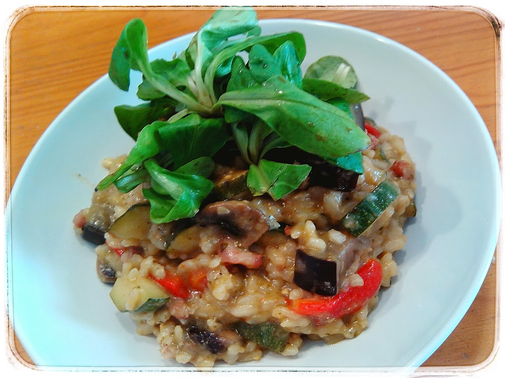 risotto vlees