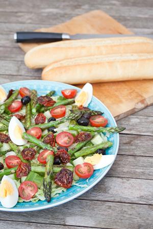 salade gegrilde asperges