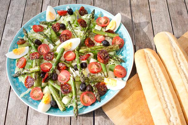 salade groene asperges