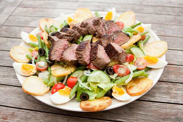 Steak Salad Nicoise