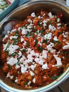 Turkse tomatenrijst